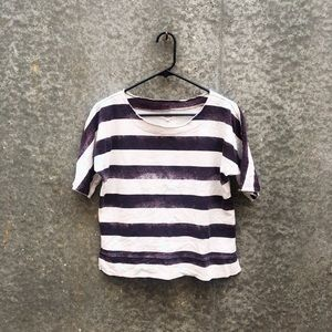 Madewell striped thick tee